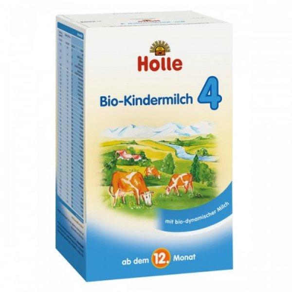 Holle  Био бебешко адаптирано мляко 3  от 12 м 600 гр.